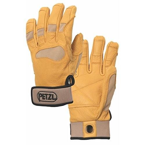 海外正規品PETZL Unisex CORDEX+ Belay/Rap Glove Tan XS
