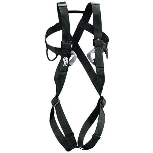 海外正規品PETZL - 8003, Full-Body Harness for Adults, Size 1, Black