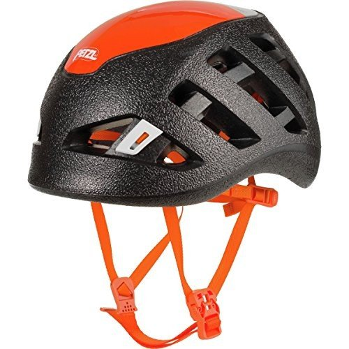 海外正規品PETZL - Sirocco, Ultra-Lightweight Climbing and Mountaineering Helmet, 黒/オレンジ, Medium/Large