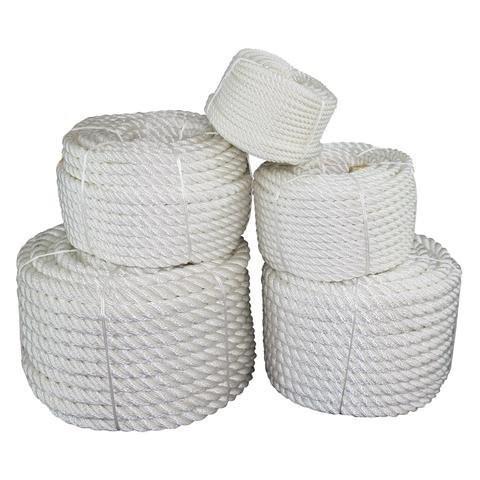 海外正規品SGT KNOTS Twisted Nylon Rope (3/4 inch) Multipurpose Utility Line - Rot, Alkali, Chemical, Weather Resistant - Craf