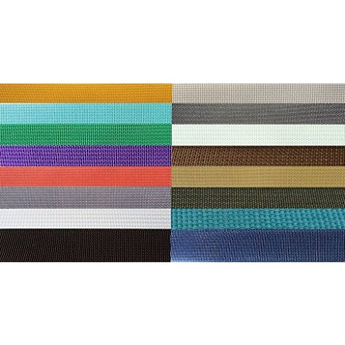 海外正規品The Northwest Company 17337 Nylon Backpack Webbing Available in 4 Widths, 6 lot sizes, 29 colors. (3/4 Silver, 20 y