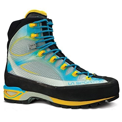 海外正規品La Sportiva Trango Cube GTX Mountaineering Boot - Women's Malibu Blue/Yellow 43