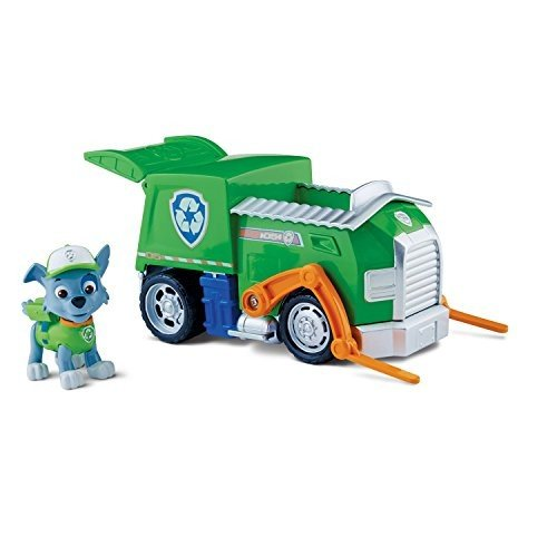 パウパトロールPaw Patrol Rocky's Recycling Truck, Vehicle and Figure