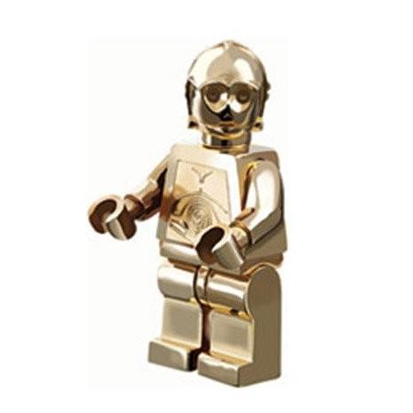 レゴC-3PO (ゴールドen, Limited Edition of 10,000) - LEGO Star Wars Figure