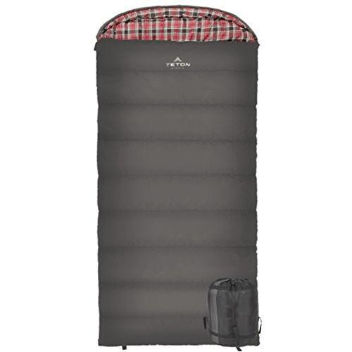 アウトドアTETON Sports Celsius XXL Sleeping Bag; Great for Family Camping; Free Compression Sack