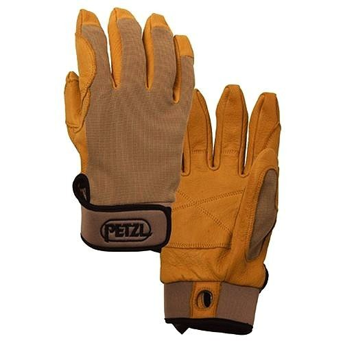海外正規品Petzl CORDEX belay/rap glove Tan S