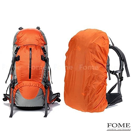 海外正規品iDeep Hiking Daypack, 45L+5L Unisex Camping Backpack Outdoor Sport Nylon Water-resistant Internal Frame Hiking Back