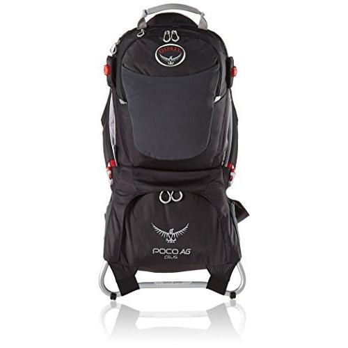 チャイルドバックパックOsprey Packs Poco AG Plus Child Carrier, Black