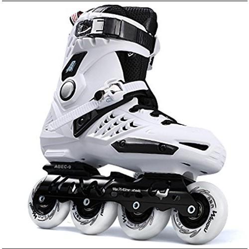 インラインスケートTX Inline Skates for Men Unisex Racing PP Material ABEC-9, 39