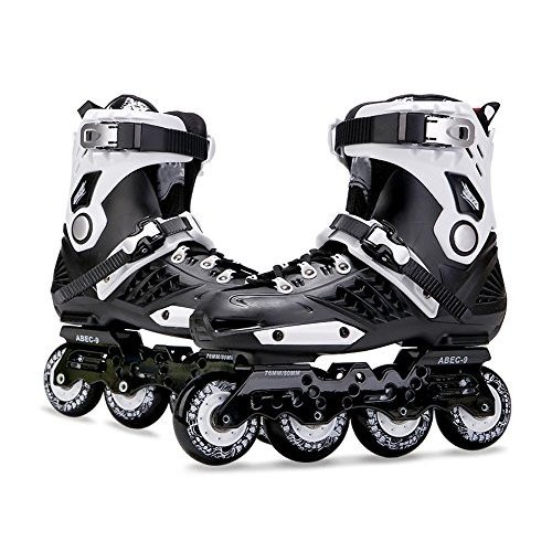 インラインスケートTX Inline Skates for Men Unisex Racing PP Material ABEC-9, 42