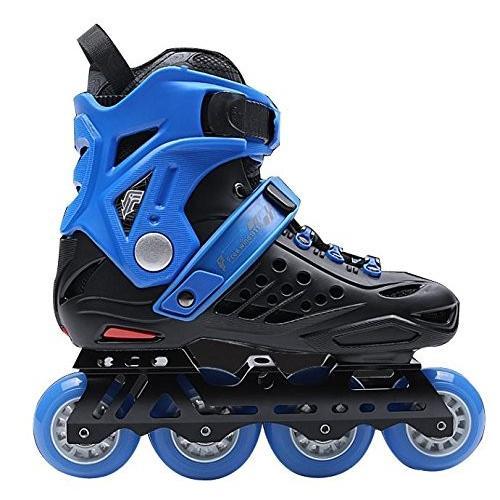 インラインスケートTX Outdoor Inline Skates Adults Blue, 35
