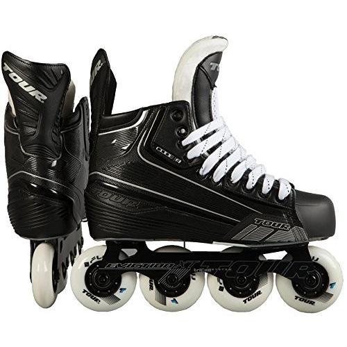 インラインスケートTOUR Code 5 Senior Inline Hockey Skates Black Size: 7 Black