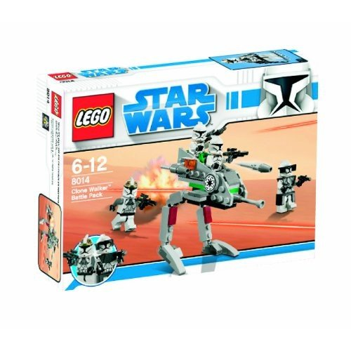 レゴStar Wars Lego 8014 Clone Walker Battle Pack