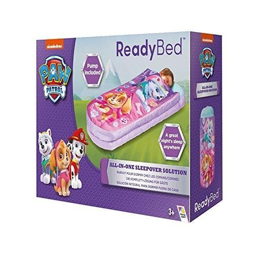 パウパトロールPaw Patrol Girls Sleepover Bed Nap Mat All in One Ages 3+
