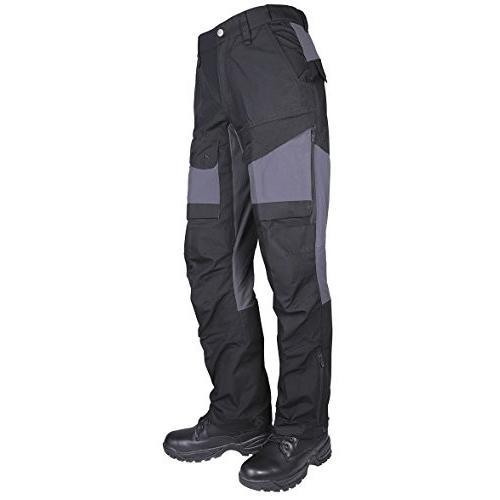 海外正規品Tru-Spec Men's 24-7 Xpedition Pants, 黒/Charcoal, W: 38 Large: 34