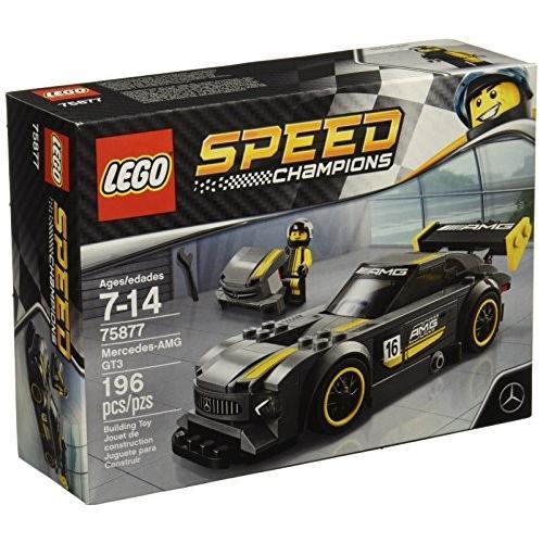 レゴLEGO Speed Champions 6175226 Mercedes-Amg Gt3 75877 Building Kit (196 Piece), Multi