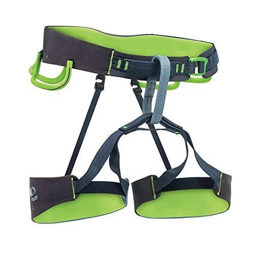 海外正規品BEAL Phantom Climbing Harness グレー/Lime 黒 L