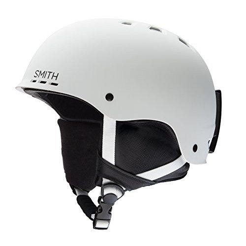 スノーボードSmith Optics Holt Adult Ski Snowmobile Helmet - Matte 白い/Medium