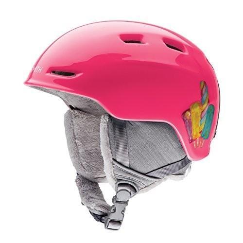 スノーボードSmith Optics Youth Zoom Jr Ski Snowmobile Helmet - ピンク Popsicles/Youth Medium