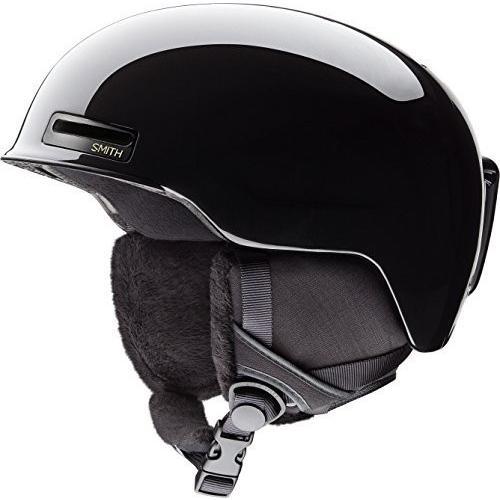 スノーボードSmith Optics Allure Adult Ski Snowmobile Helmet - 黒 Pearl/Small