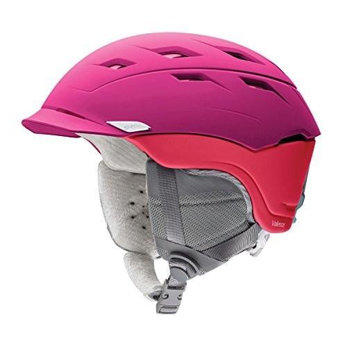 スノーボードSmith Women's Valence : Snow Helmet (Matte Fuchsia Magenta, Small)
