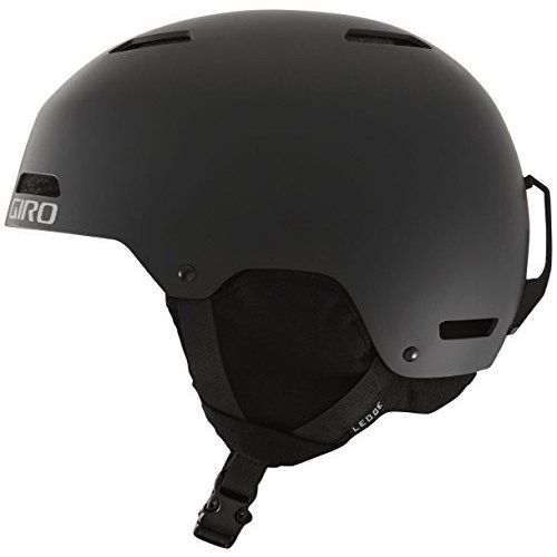 スノーボードGiro Ledge Snow Helmet - Matte 黒 - Size S (52-55.5cm)