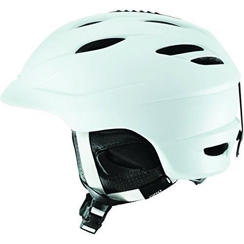 スノーボードGiro Seam Snow Helmet (Matte 白い, Medium)
