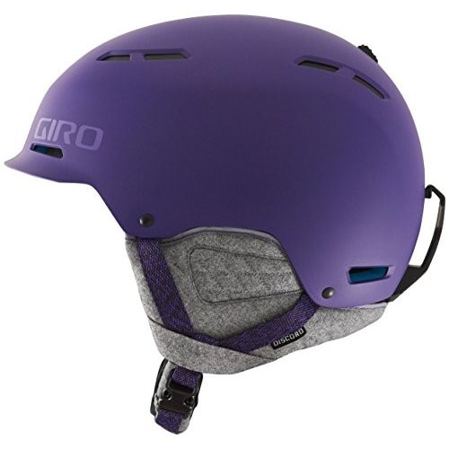 スノーボードGiro Discord Snowboard Ski Helmet Matte 紫の Medium