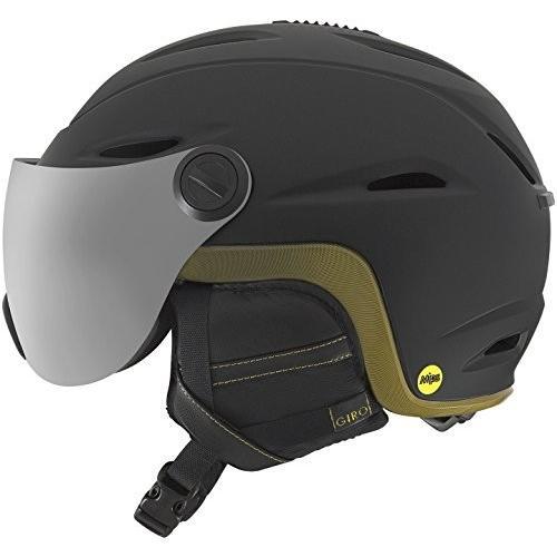 スノーボードGiro Essence MIPS Women's Snow Helmet with Integrated Goggle Shield Matte 黒 M (55.5-59cm)