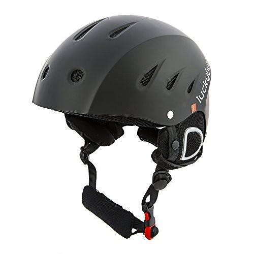 スノーボードLucky Bums Snow Sport Helmet, Matte 黒, X-Large
