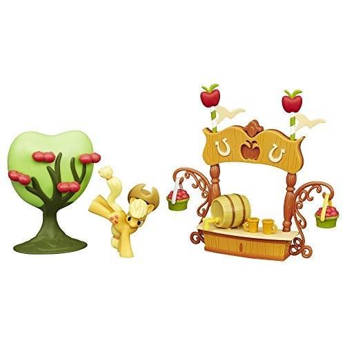 マイリトルポニーMy Little Pony Friendship is Magic Collection Sweet Apple Juice Stand Set