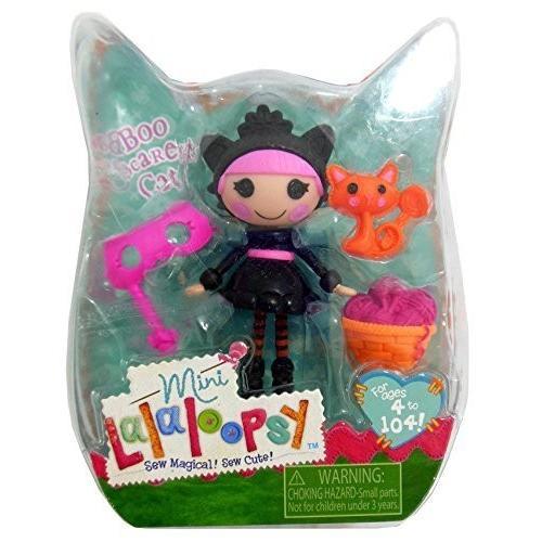 ララループシーMini Lalaloopsy Halloween Exclusive Boo Sca赤y Cat by MGA Entertainment