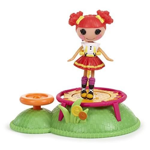 ララループシーMini Lalaloopsy Doll Ready, Set...Play!- Trampoline