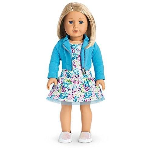 アメリカンガールドールAmerican Girl - 2017 Truly Me Doll: Light Skin, Medium-Length Blond Hair, 青 Eyes DN63