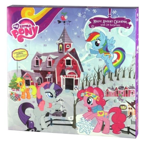 マイリトルポニーMy Little Pony 2013 Hasbro Advent Christmas Calendar
