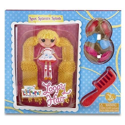 ララループシーMini Lalaloopsy Loopy Hair Doll - Spot Splatter Splash
