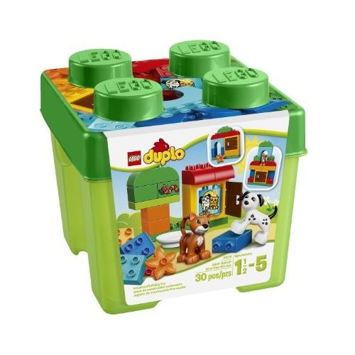 レゴLEGO DUPLO Creative Play 10570 All-in-One-Gift-Set For Your Kids Includes A Cat, Dog, Window Element And Selection Of LEGO D