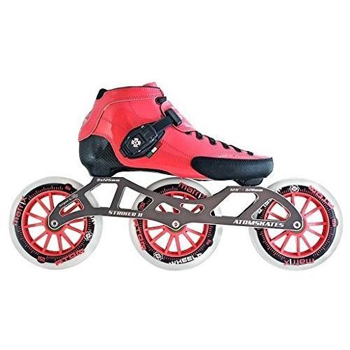 インラインスケートLuigino Strut Pink Boot, Striker 3x125 12.6
