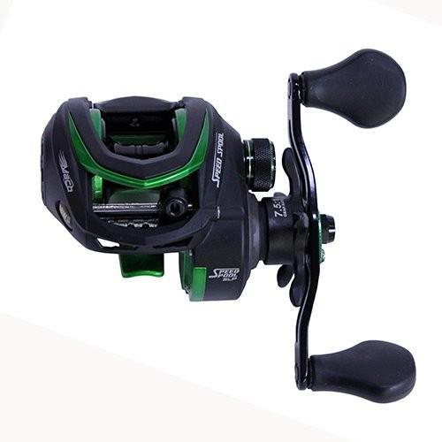 リールLew's Fishing MS1SHL Lews Fishing, Mach Speed Spool MCS Casting Reel, 7.5: 1 Gear Ratio, 10 Bearings, 10 lb Max Drag, Lef