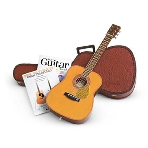 アメリカンガールドールAmerican Girl Doll Guitar with Case and Books Set Truly Me