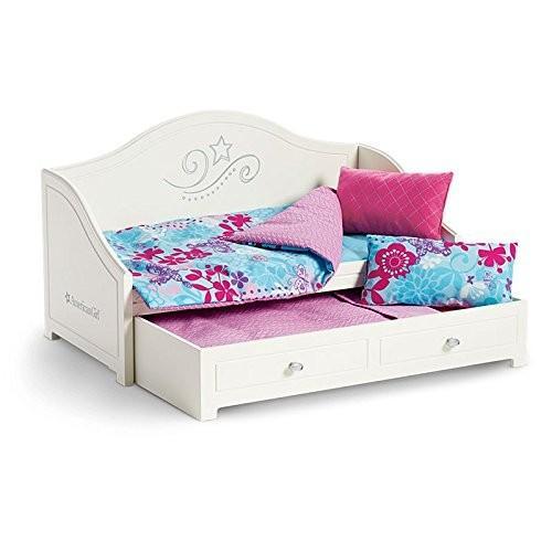 アメリカンガールドールAmerican Girl Trundle Bed and Bedding Set