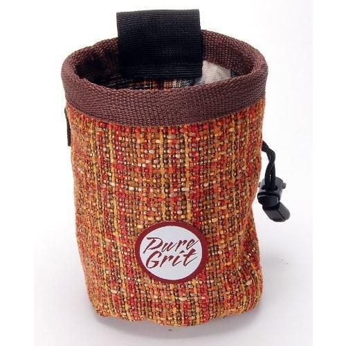 海外正規品Pure Grit Sandstone Chalk Bag (USA Made) with Belt (7 Inches, 5.25 Inches)