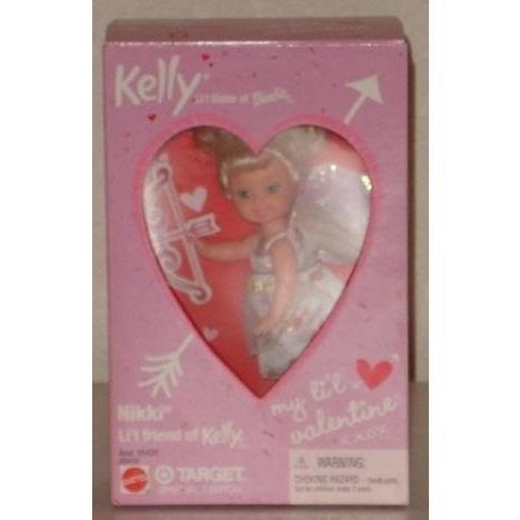 バービーNIKKI My Little Valentine Kelly Doll 2001 Target