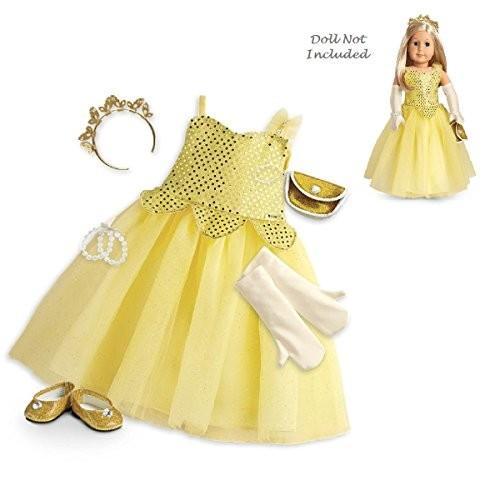アメリカンガールドールAmerican Girl Shimmering Ballrom Gown for 18