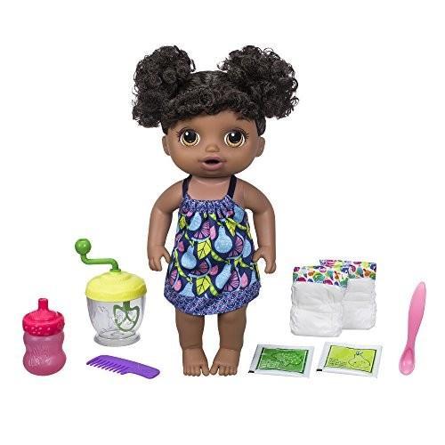 ベビーアライブBaby Alive Sweet Spoonfuls Baby Doll Girl (黒 Hair)