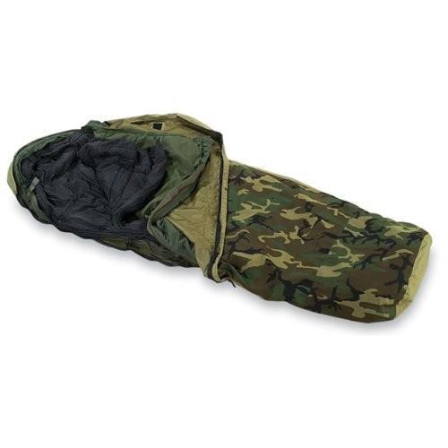 アウトドアMilitary Outdoor Clothing Previously Issued U.S. G.I. Modular Sleeping Bag System (4-Piece)