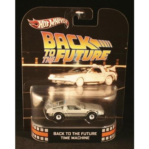 ホットウィールHot Wheels Retro Back to the Future 1:55 Die Cast Car DeLorean Time Machine
