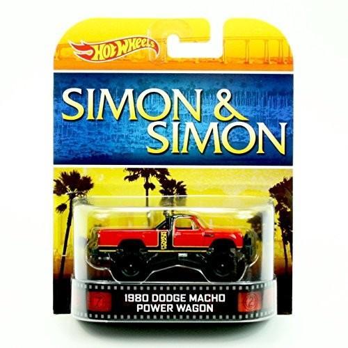 ホットウィール1980 DODGE MACHO POWER WAGON SIMON & SIMON Hot Wheels 2013 Retro Series Die Cast Vehicle