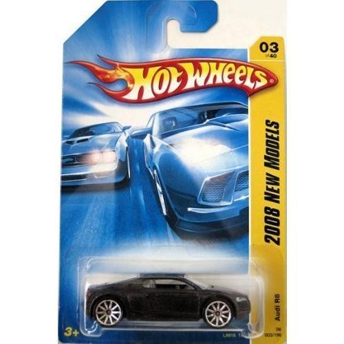 ホットウィールHot Wheels Audi R8 黒 die-cast 1:64 scale