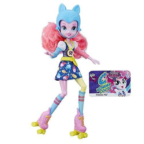 マイリトルポニーMy Little Pony Equestria Girls ピンクie Pie Sporty Style Roller Skater Doll